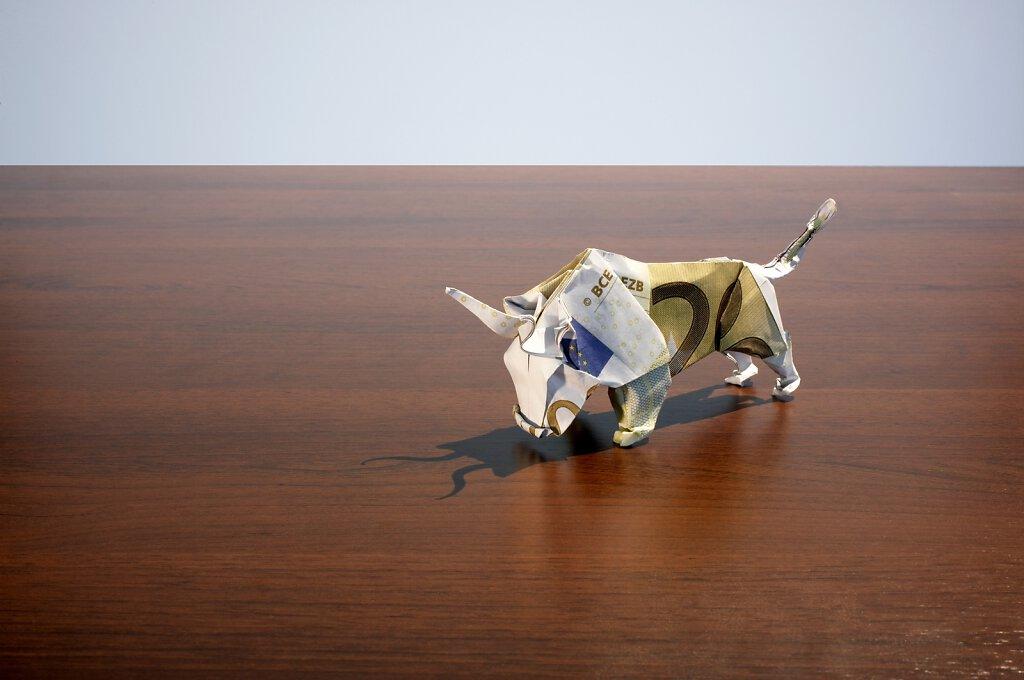 Origami Stier