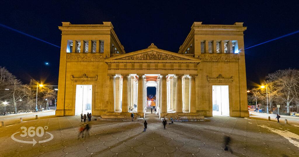 Kunstareal München | - Lichtaktion